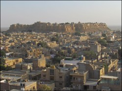 Jaisalmer - Point de vue sur le Fort 'Sonar Quila'
